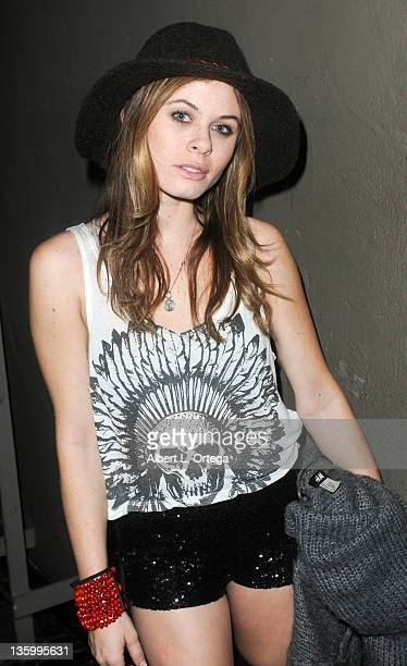 Actress Augie Duke participates in Chanel Ryan's Birthday Party held at Bardot on December 9, 2011 in Los Angeles, California.