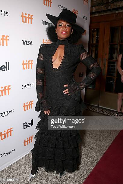 Actress Aunjanue Ellis attends Fox Searchlight's The Birth of a Nation special presentation during the 2016 Toronto International Film Festival at...