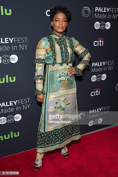 "Actress Aunjanue Ellis attends PaleyFest New York 2016 presents ""Quantico"" at The Paley Center for Media on October 17, 2016 in New York City."