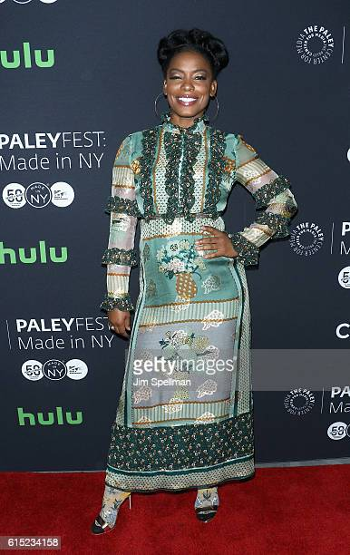 "Actress Aunjanue Ellis attends PaleyFest New York 2016 ""Quantico"" at The Paley Center for Media on October 17, 2016 in New York City."