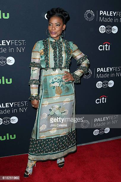 "Actress Aunjanue Ellis attends PaleyFest New York 2016 - ""Quantico"" at The Paley Center for Media on October 17, 2016 in New York City."