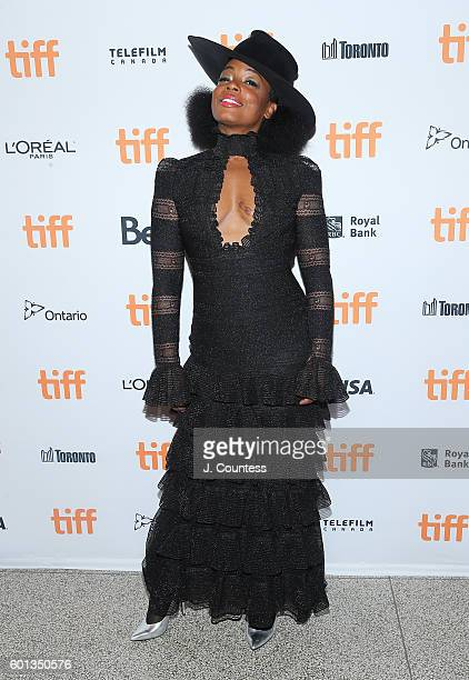 "Actress Aunjanue Ellis attends the 2016 Toronto International Film Festival premiere of ""The Birth Of A Nation"" Premiere at Winter Garden Theatre on..."