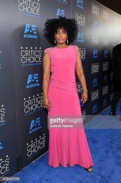Actress Aunjanue Ellis attends the 5th Annual Critics' Choice Television Awards at The Beverly Hilton Hotel on May 31, 2015 in Beverly Hills,...