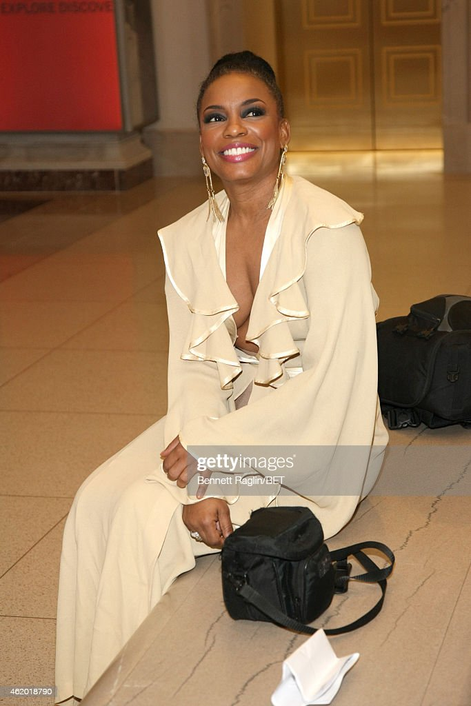 Actress Aunjanue Ellis attends 'The Book of Negroes' screening reception at The National Archives on January 22, 2015 in Washington, DC.