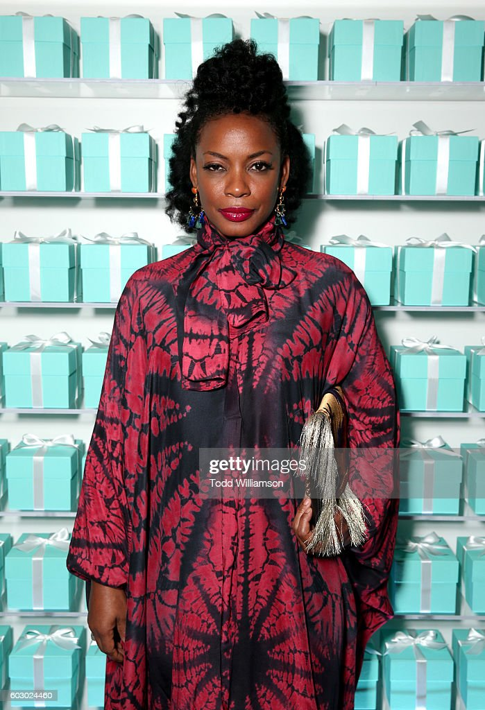 Actress Aunjanue Ellis attends the Vanity Fair and Tiffany & Co. private dinner toasting Lupita Nyong'o and celebrating Legendary Style at Shangri-La Hotel on September 11, 2016 in Toronto, Canada.