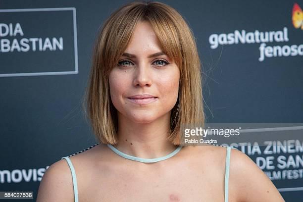 Actress Aura Garrido attends the 64th San Sebastian International Film Festival press conference at Academia de Cine on July 28 2016 in Madrid Spain