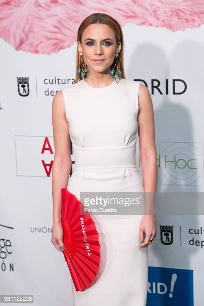 Actress Aura Garrido attends the 'Union de Actores' awards at Circo Price theater on March 12 2018 in Madrid Spain