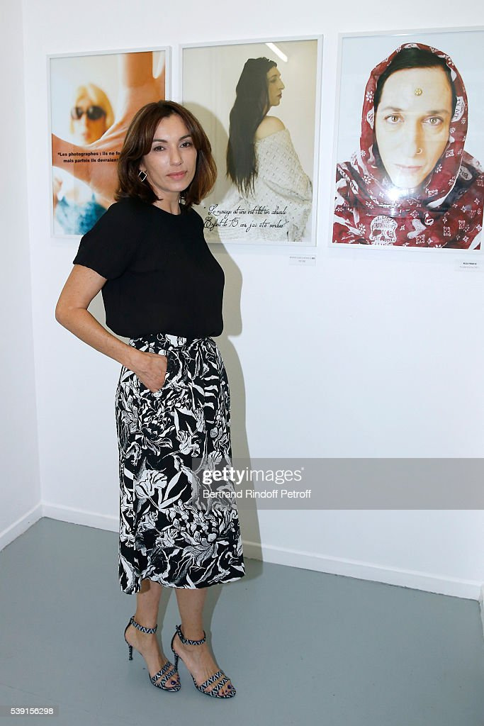 """""""55 Politiques"""", Exhibition Of Stephanie Murat's Pictures, Opening Party In Paris"""