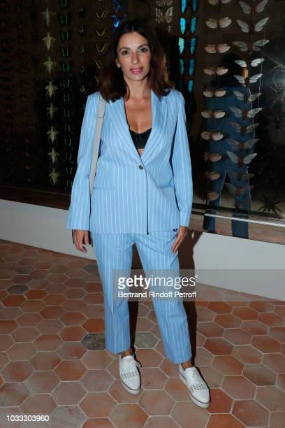 Actress Aure Atika attends the Kering Heritage Days Opening Night at 40 Rue de Sevres on September 14 2018 in Paris France