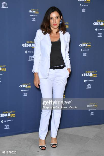 Actress Aure Atika attends the 'Les Nuits En Or 2018' dinner gala at UNESCO on June 11 2018 in Paris France