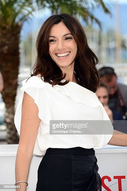 Actress Aure Atika attends the photocall for 'Jeunes Talents Adami' during the 66th Annual Cannes Film Festival at the Palais des Festivals on May 20...