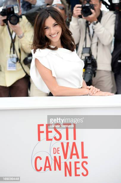 Actress Aure Atika attends the photocall for 'Jeunes Talents Adami' during the 66th Annual Cannes Film Festival at the Palais des Festivals on May...