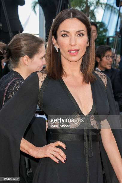 Actress Aure Atika attends the screening of 'Capharnaum' during the 71st annual Cannes Film Festival at Palais des Festivals on May 17 2018 in Cannes...