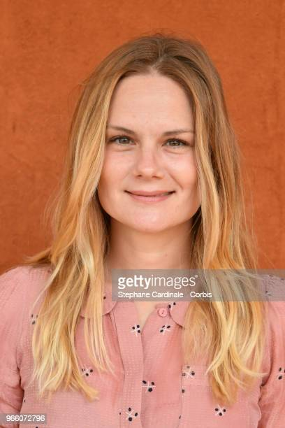 Actress Aurelie Nollet attends the 2018 French Open Day Seven at Roland Garros on June 2 2018 in Paris France