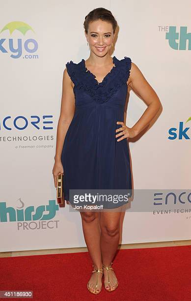 Actress Austin Highsmith arrives at the 5th Annual Thirst Gala at The Beverly Hilton Hotel on June 24 2014 in Beverly Hills California