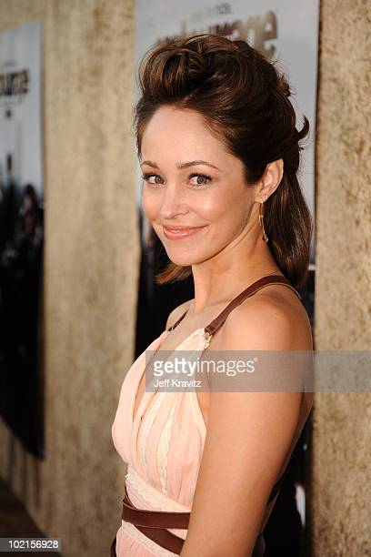 Actress Autumn Reeser arrives at HBO's Entourage Season 7 premiere held at Paramount Theater on the Paramount Studios lot on June 16 2010 in...