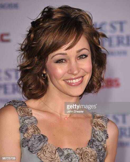 Actress Autumn Reeser arrives to the Ghost Whisperer 100th Episode Celebration at XIV on March 1 2010 in West Hollywood California
