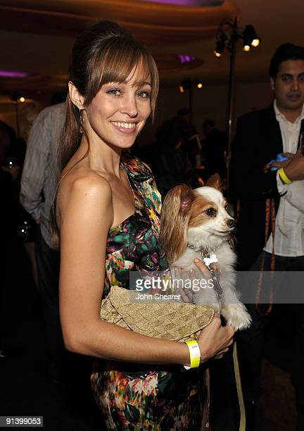Actress Autumn Reeser at the Best Friends Animal Society's 2009 Lint Roller Party at the Hollywood Palladium on October 3 2009 in Hollywood California