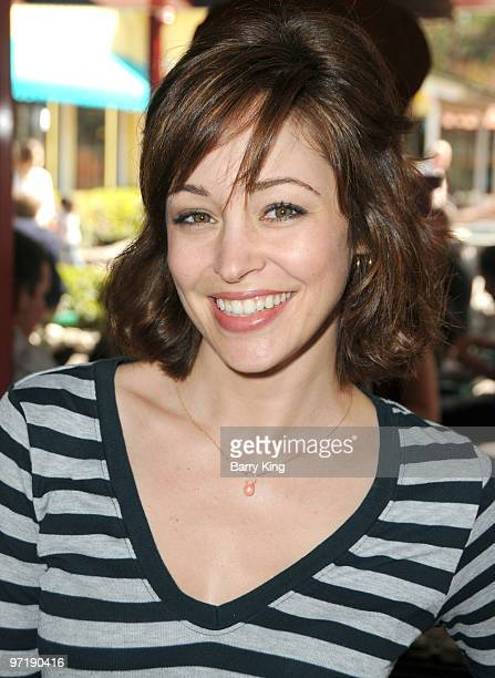 Actress Autumn Reeser attends Pink's Grand Opening at Knott's Berry Farm on February 28 2010 in Buena Park California