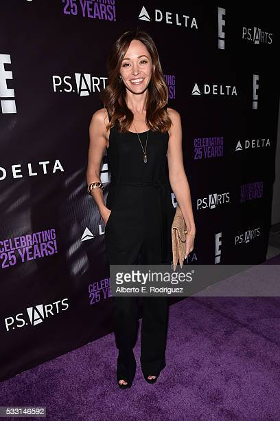Actress Autumn Reeser attends PS Arts' The pARTy at NeueHouse Hollywood on May 20 2016 in Los Angeles California