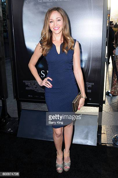 Actress Autumn Reeser attends the Los Angeles industry screening of Warner Bros Pictures' 'Sully' at Directors Guild Of America on September 8 2016...