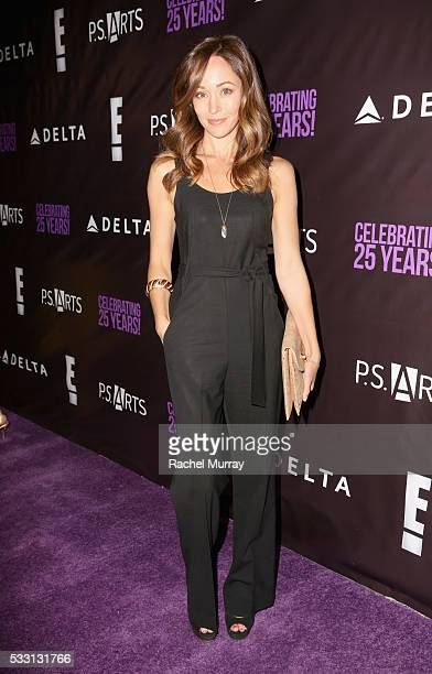 Actress Autumn Reeser attends the pARTy celebrating 25 years of PS ARTS on May 20 2016 in Los Angeles California