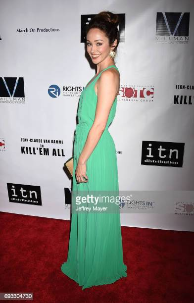 Actress Autumn Reeser attends the premiere of Destination Films' 'Kill 'em All' at Harmony Gold on June 6 2017 in Los Angeles California