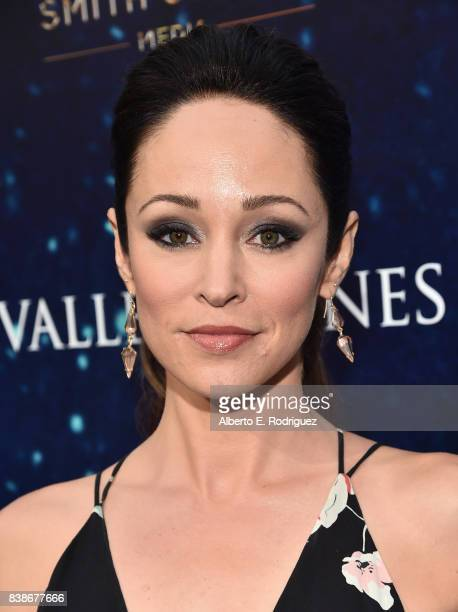 Actress Autumn Reeser attends the world premiere of Valley Of Bones at ArcLight Hollywood on August 24 2017 in Hollywood California