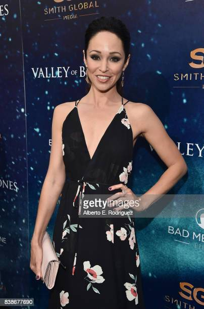 Actress Autumn Reeser attends the world premiere of 'Valley Of Bones' at ArcLight Hollywood on August 24 2017 in Hollywood California