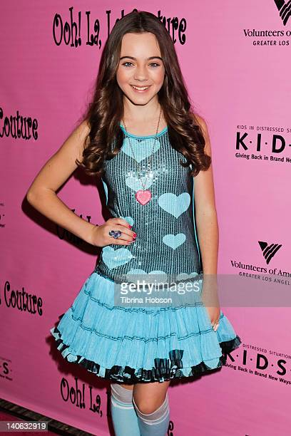 Actress Ava Allan attends the Tutus4Tots event at Strengthening Families Volunteers of America Los Angeles on March 3, 2012 in Los Angeles,...