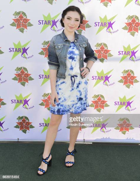 Actress Ava Cantrell attends 17th Annual Children's Earth Day Extravaganza at Star Eco Station on April 2 2017 in Culver City California