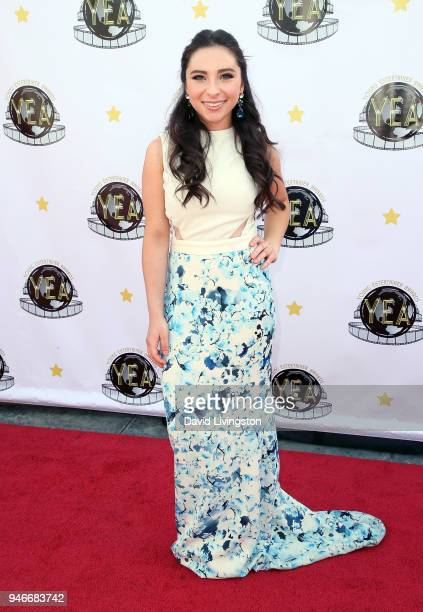 Actress Ava Cantrell attends the 3rd Annual Young Entertainer Awards at The Globe Theatre on April 15 2018 in Universal City California