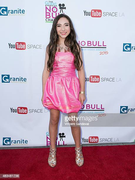 Actress Ava Cantrell attends the 4th Annual YouTube No Bull Teen Video Awards at YouTube Space LA on August 8 2015 in Los Angeles California