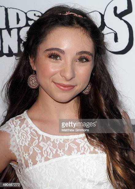 Actress Ava Cantrell attends the premiere of Marvista Entertainment's Kids Vs Monsters at The Egyptian Theatre on September 28 2015 in Los Angeles...