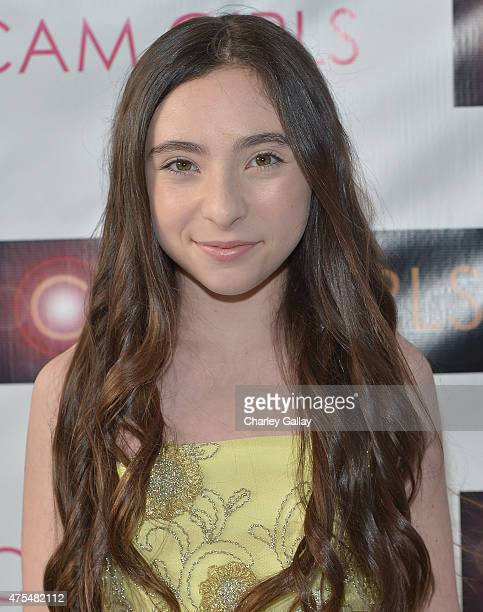 Actress Ava Cantrell attends the screening party for the new original web series CAM GIRLS at United Talent Agency on May 31 2015 in Beverly Hills...