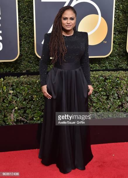 Actress Ava DuVernay attends the 75th Annual Golden Globe Awards at The Beverly Hilton Hotel on January 7 2018 in Beverly Hills California