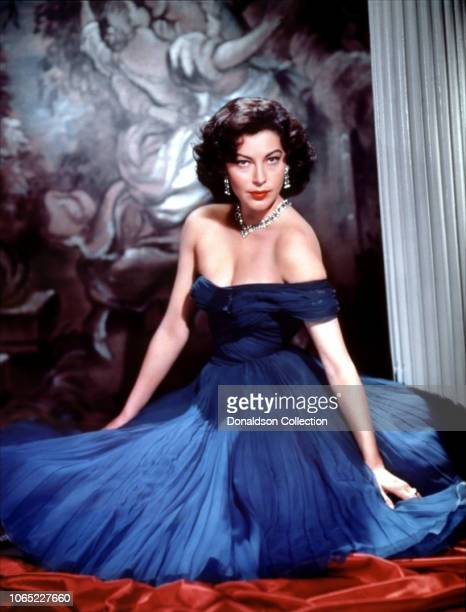 Actress Ava Gardner in a scene from the movie The Barefoot Contessa