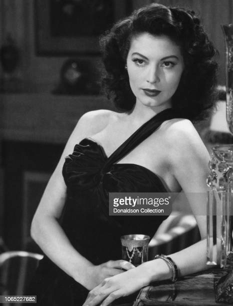 Actress Ava Gardner in a scene from the movie The Killers