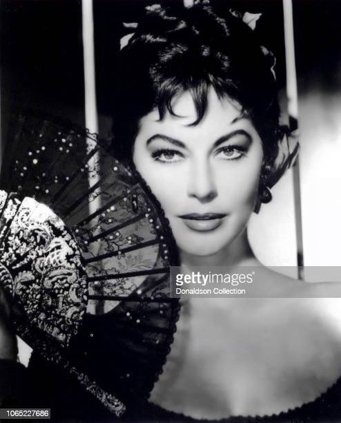 Actress Ava Gardner in a scene from the movie The Naked Maja