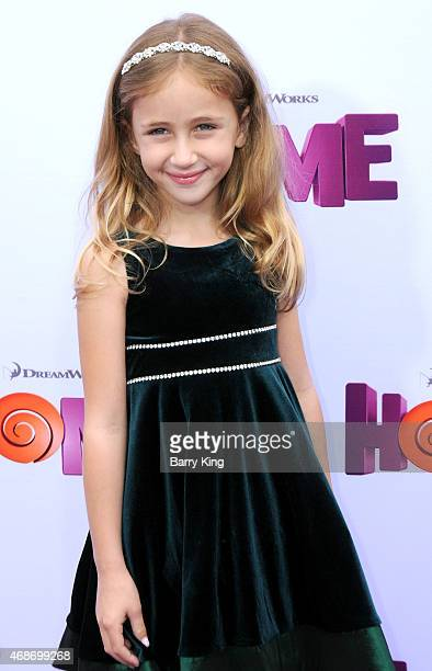 Actress Ava Kolker arrives at Twentieth Century Fox And Dreamworks Animation's 'Home' Premiere at Regency Village Theatre on March 22 2015 in...