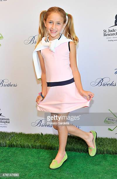 Actress Ava Kolker attends Brooks Brothers MINI CLASSIC Golf Tournament to benefit St Jude Children's Research Hospital at Brooks Brothers Beverly...