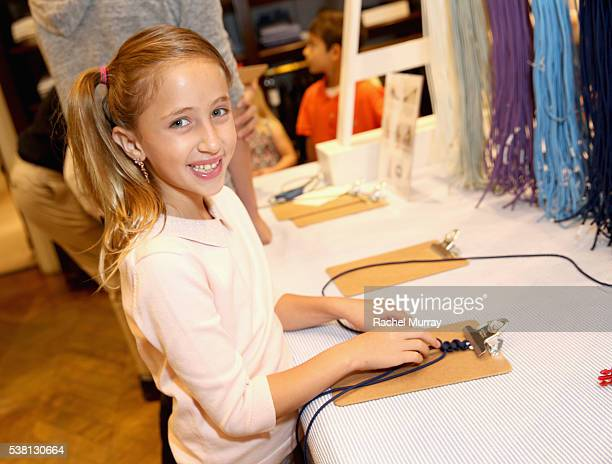 Actress Ava Kolker attends Brooks Brothers Mini Classic to Benefit St Jude Children's Research Hospital at Brooks Brothers Beverly Hills on June 4...