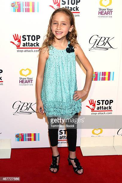 Actress Ava Kolker attends the GBK Stop Attack Pre Kids Choice Gift Lounge at The Redbury Hotel on March 26 2015 in Hollywood California
