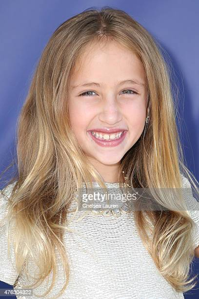 Actress Ava Kolker attends the opening night of 'Matilda the Musical' at Ahmanson Theatre on June 7 2015 in Los Angeles California