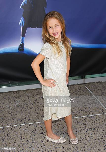 Actress Ava Kolker attends the opening night of Matilda The Musical at Ahmanson Theatre on June 7 2015 in Los Angeles California