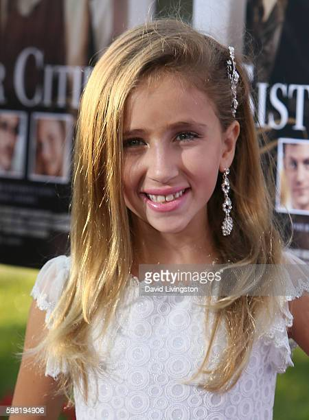 Actress Ava Kolker attends the premiere of Lifetime's Sister Cities at Paramount Theatre on August 31 2016 in Hollywood California