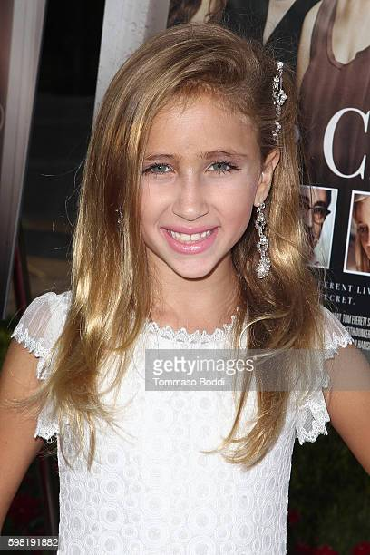 Actress Ava Kolker attends the premiere of Lifetime's Sister Cities held at Paramount Theatre on August 31 2016 in Hollywood California