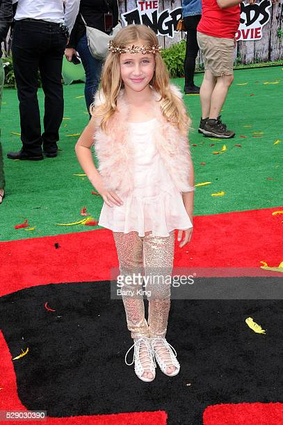 Actress Ava Kolker attends the premiere of Sony Pictures' 'Angry Birds' at Regency Village Theatre on May 7 2016 in Westwood California