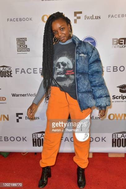 Actress Ava McCoy arrives to The Blackhouse Foundation's event A Conversation with the filmmakers and cast from 'Charm City Kings' during the...