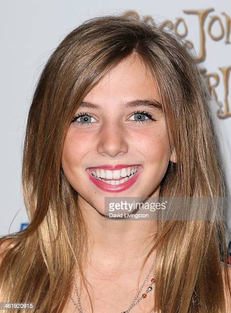 Actress Avalon Robbins attends Coco Jones' Sweet 16 birthday party at the SLS Hotel on January 11, 2014 in Beverly Hills, California.